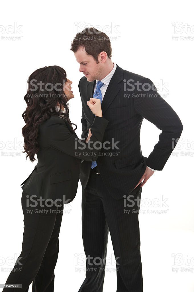 fighting in business royalty-free stock photo