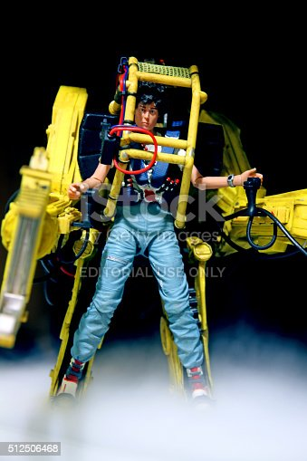 Vancouver, Canada - January 25, 2016: A model of Ellen Ripley from the