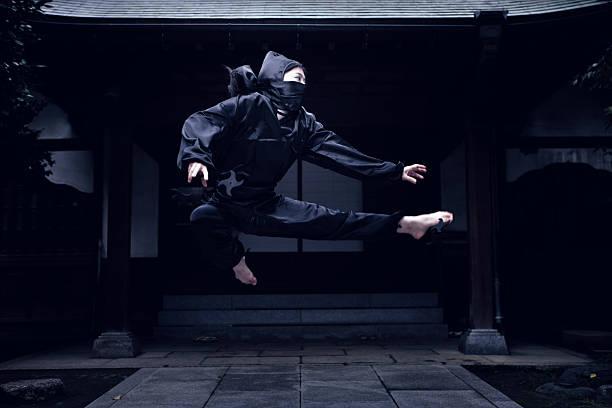 lucha ninja - ninja fotografías e imágenes de stock