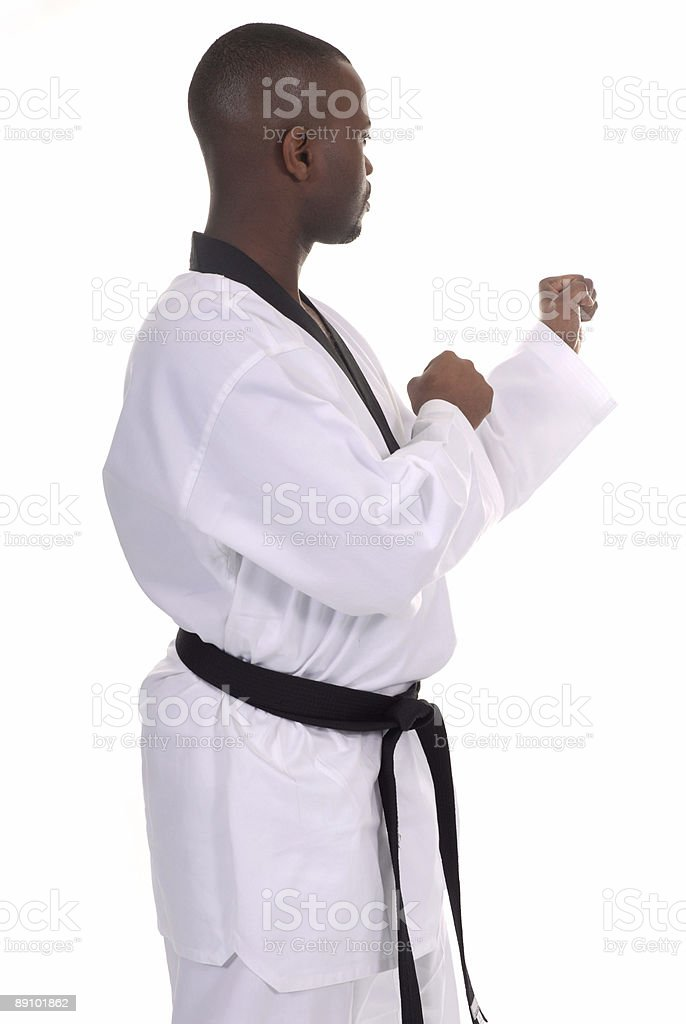 Fighting position royalty-free stock photo