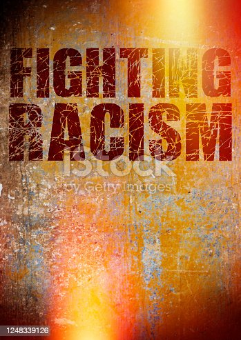 Fighting Racism Sign