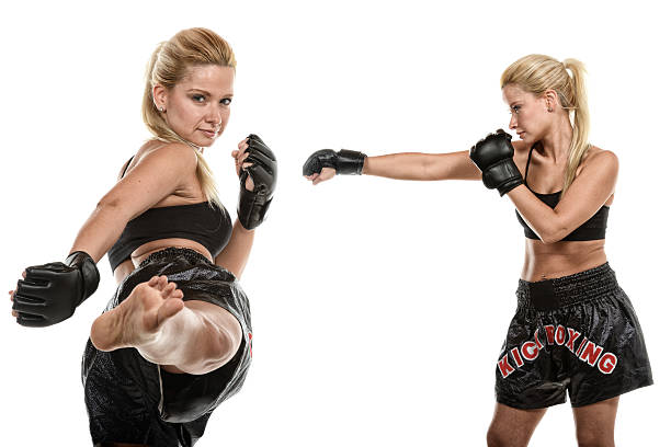 fighting style - martial arts gerville stock photos and pictures
