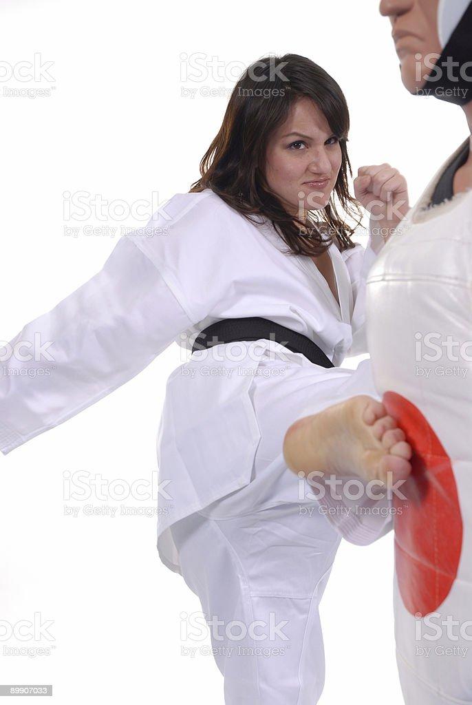 Lucha de estilo foto de stock libre de derechos