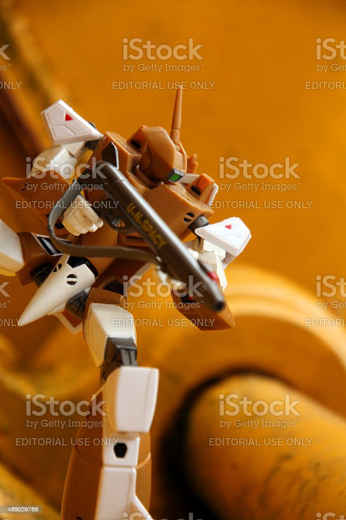 Fighting the Alien Invaders stock photo