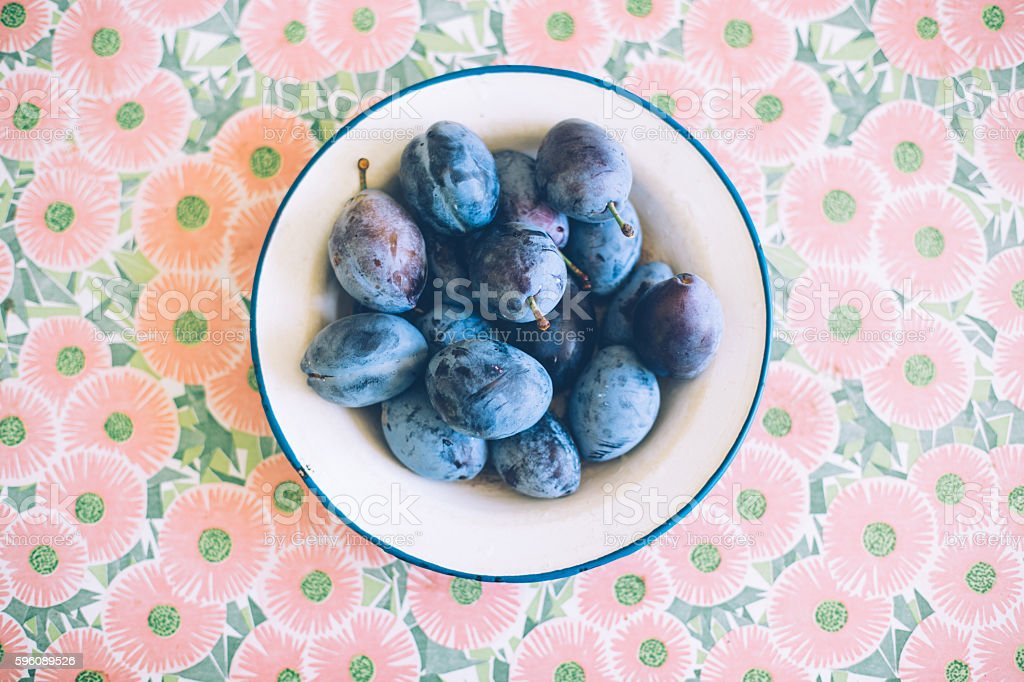 Figs and Plums Lizenzfreies stock-foto