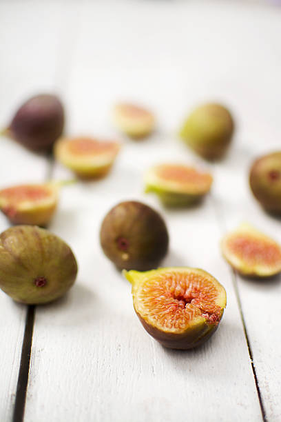 Figs on table stock photo