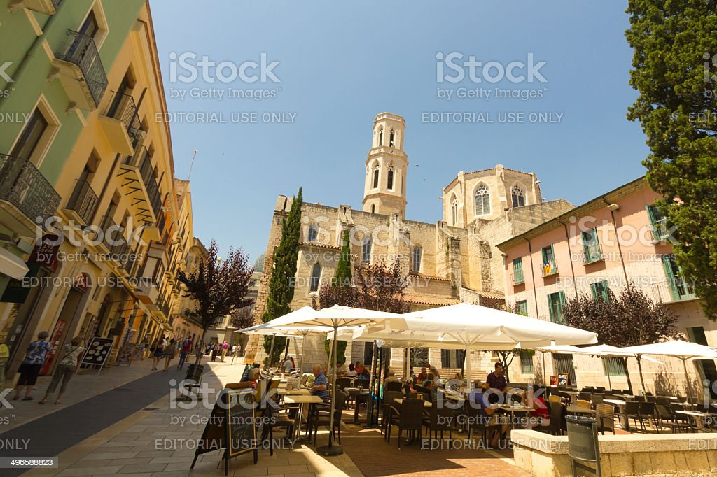 Figueres stock photo