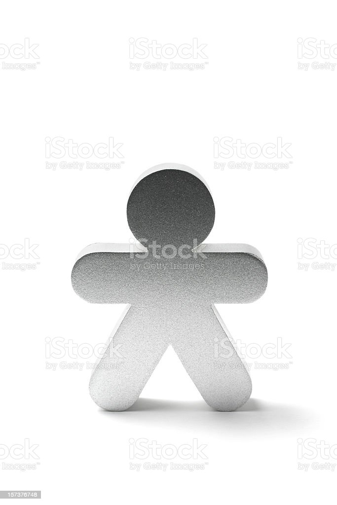 Figure Man royalty-free stock photo