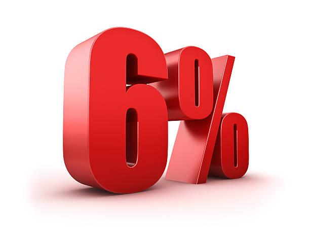 6 Prozent Ermäßigung – Foto