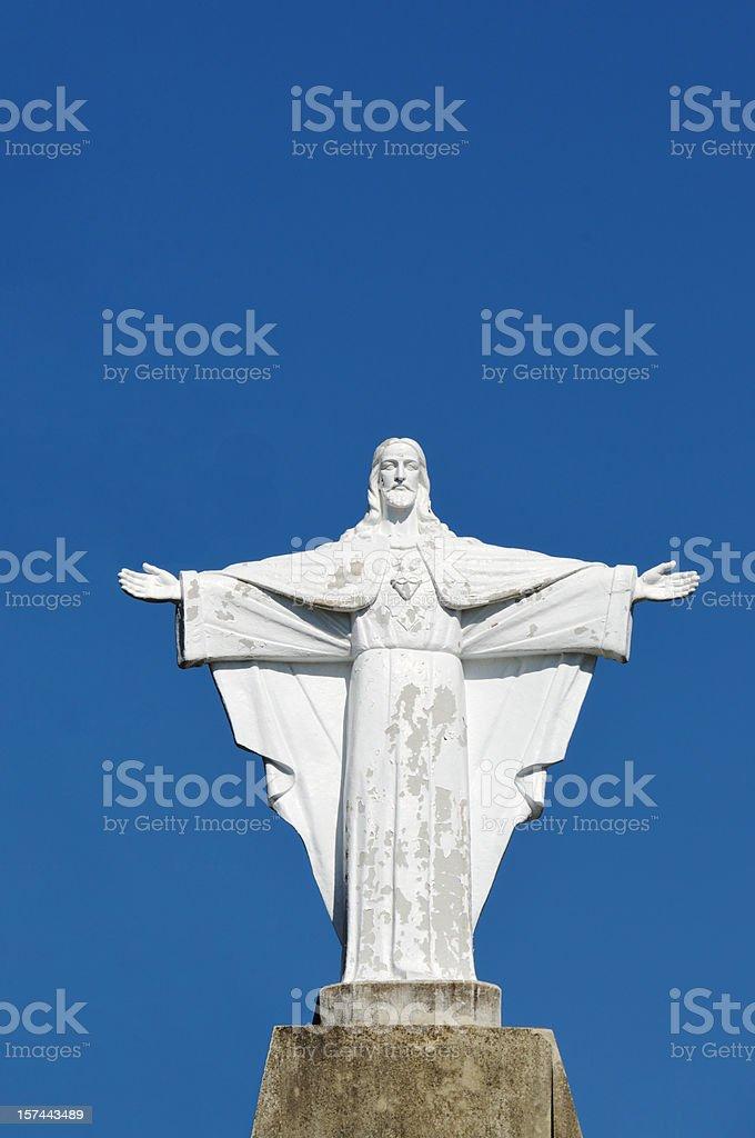 figure of Jesus Christ royalty-free stock photo