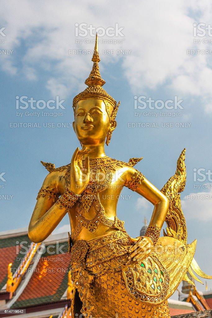 Figure Of Kinnara stock photo
