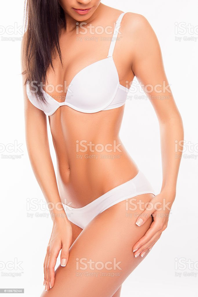 782dcbab1ce Figure of young aattractive sensuality and sexy woman wearing lingerie -  Stock image .