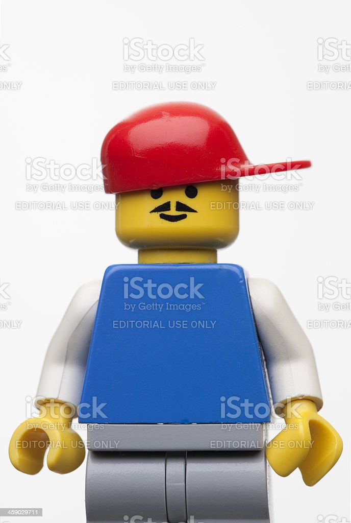 LEGO figure royalty-free stock photo