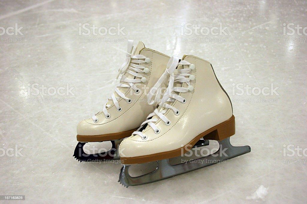 Figure Skates royalty-free stock photo