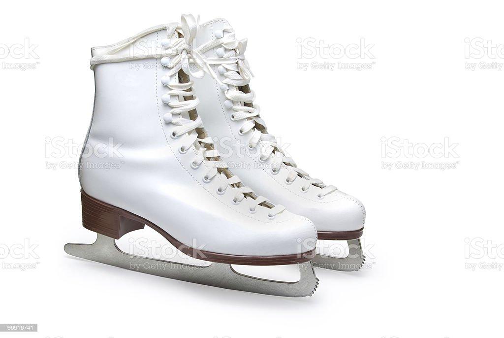 Figure skates. royalty-free stock photo