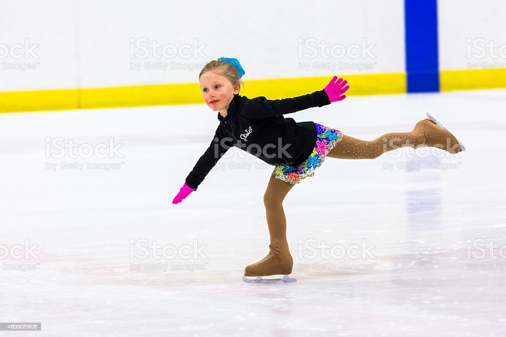 Figure skating stock photo