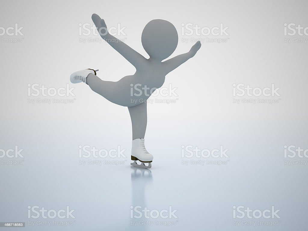 Figure skating. Winter olimpic games. stock photo
