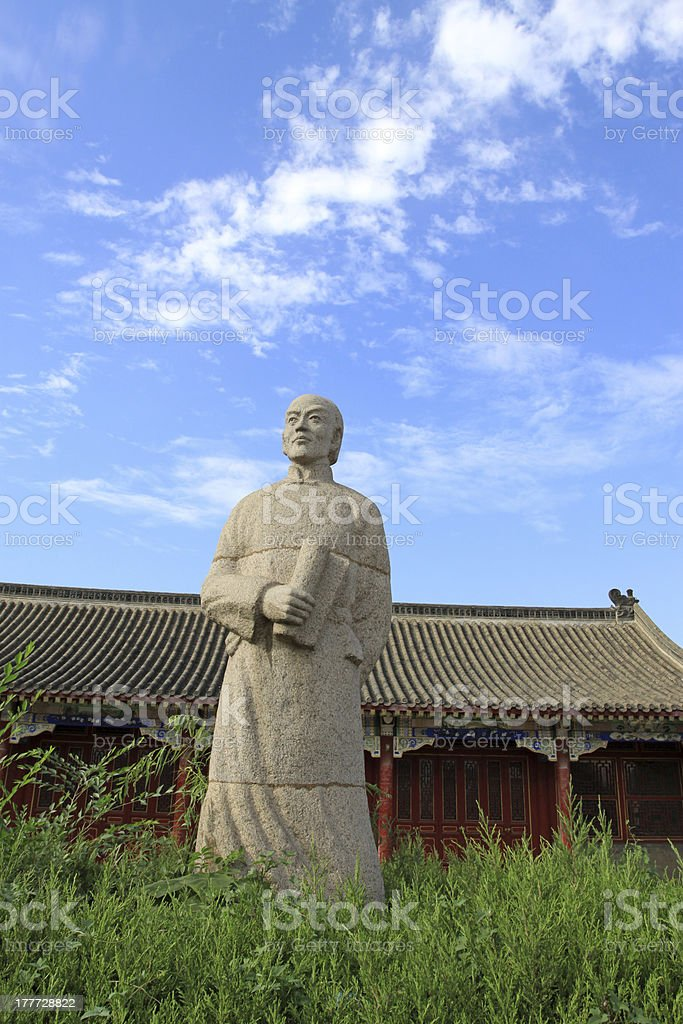 figure statue royalty-free stock photo