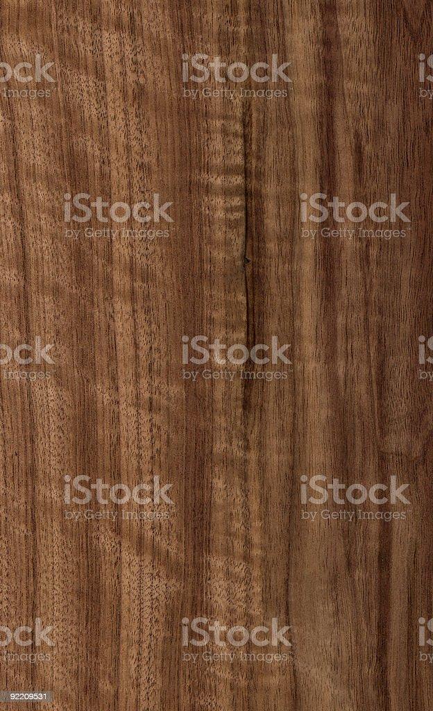 Figured Black Walnut - Wood Texture Series stock photo