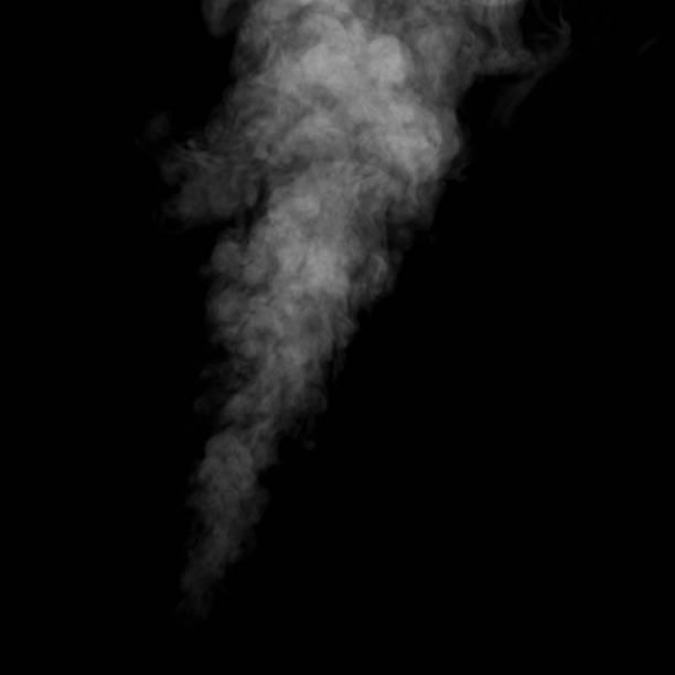tänkte röka på en mörk bakgrund. abstrakt bakgrund, designelement, för överlagring på bilder - dimma png bildbanksfoton och bilder