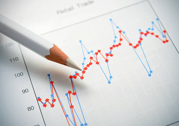 Figure e grafico - foto stock