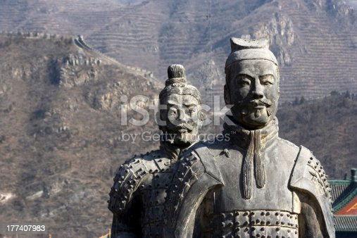 istock Figures of Soldier and Horses Clay 177407983