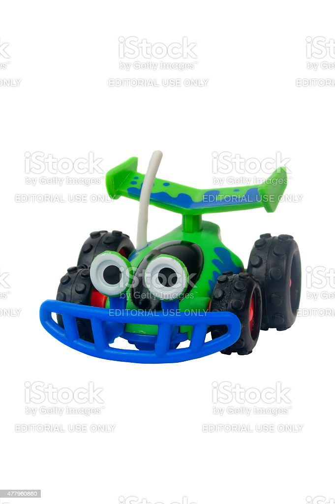 RC Figurine from the Toy Story Movie Series stock photo
