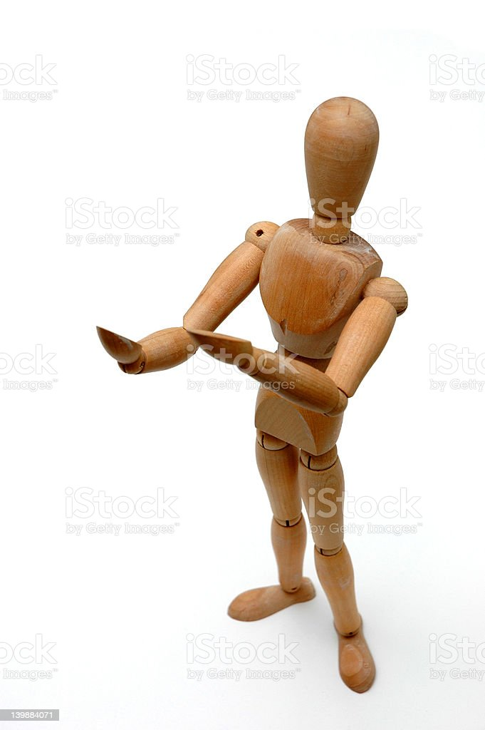Figurine - It Looks Like royalty-free stock photo