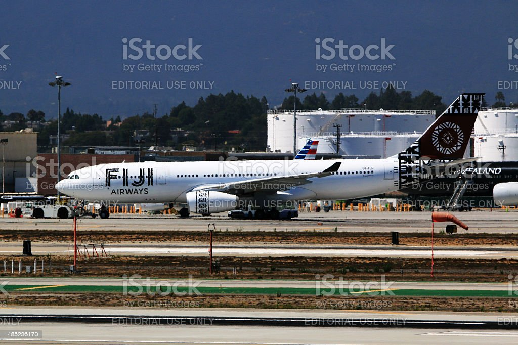 Fiji Airways A330200 At Los Angeles International Airport