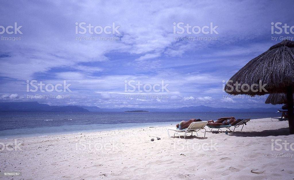 Fiji Beach royalty-free stock photo