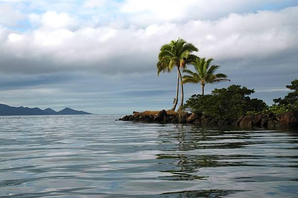 Fiji Island Paradise stock photo