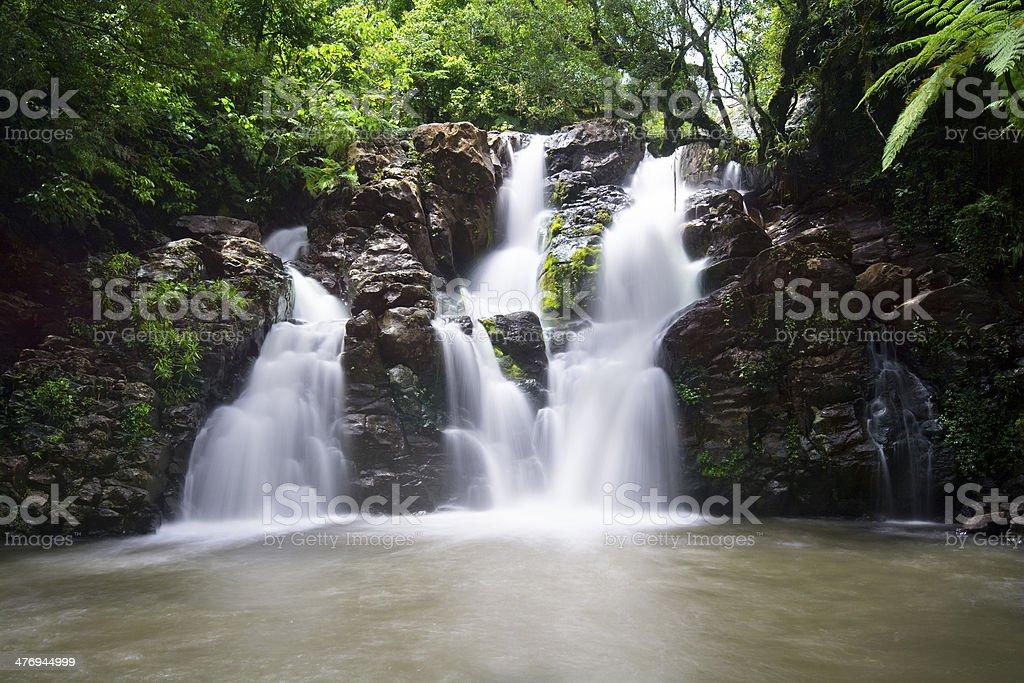 Fiji Waterfall stock photo