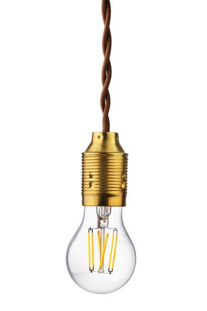 led-glühlampe - glühbirne e27 stock-fotos und bilder