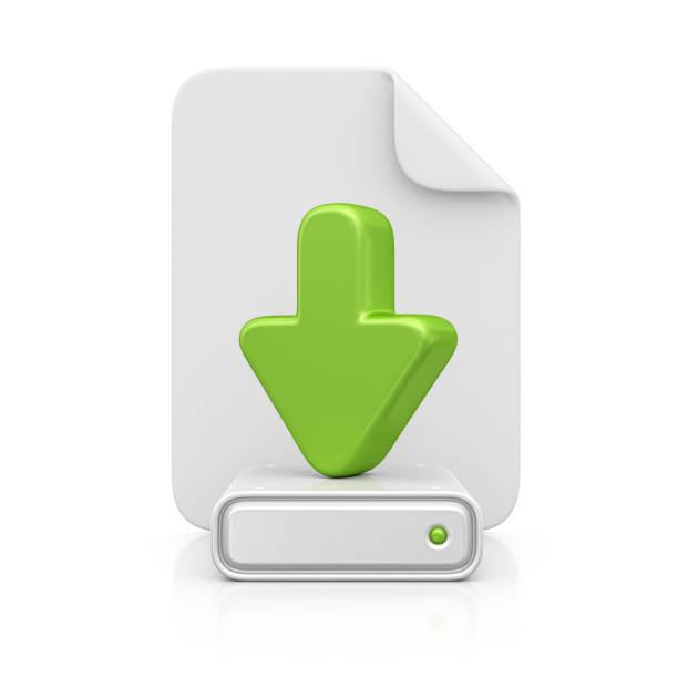 Datei und download-Symbol – Foto