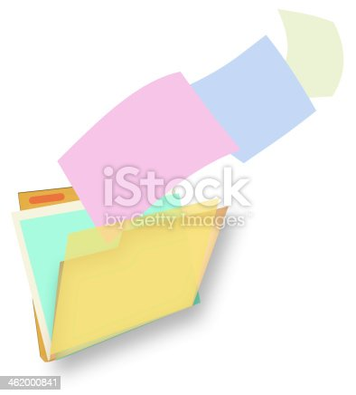 istock File and folder 462000841