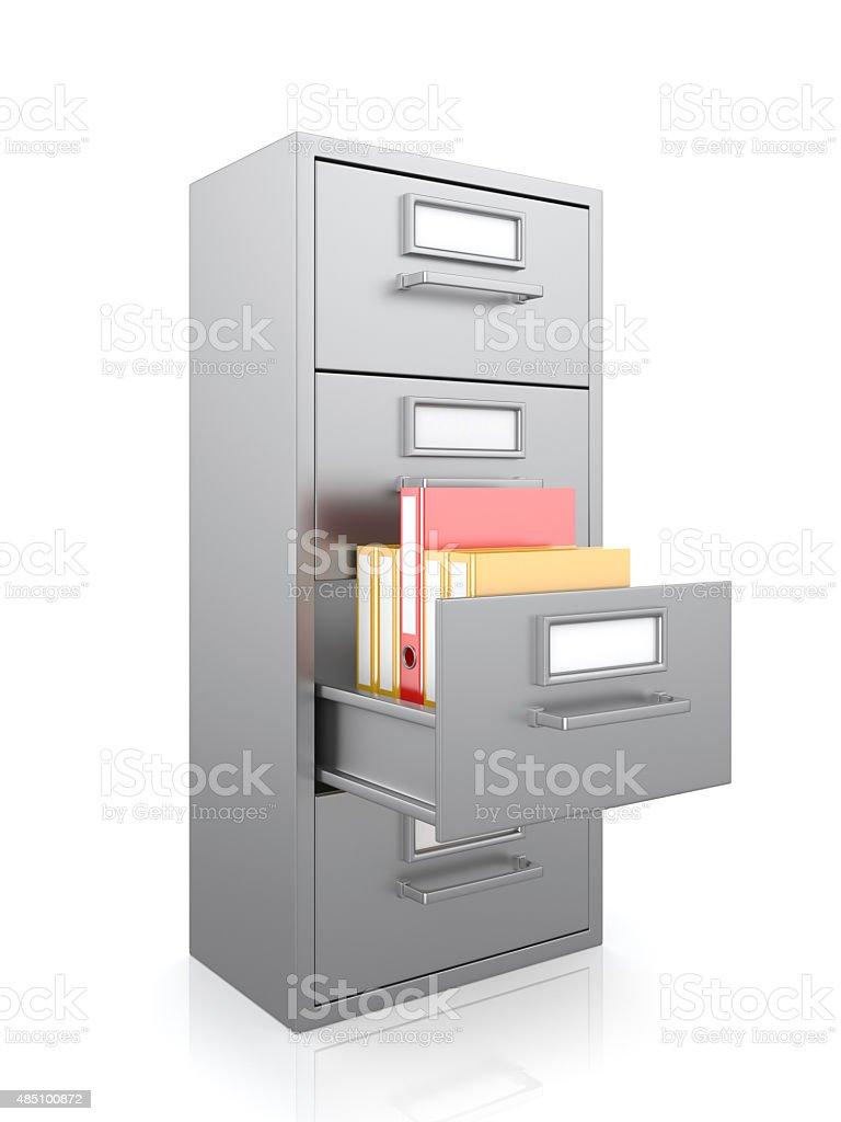 ... File Cabinet Stock Photo ...