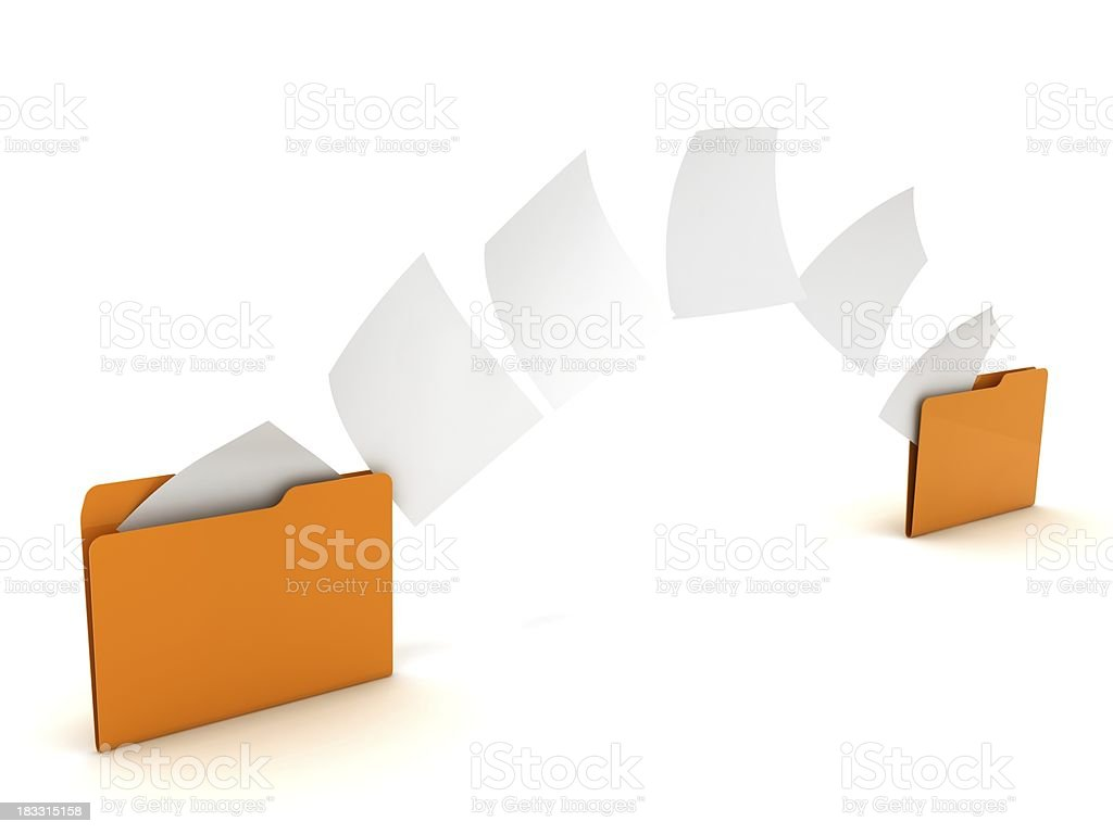 File Copy royalty-free stock photo
