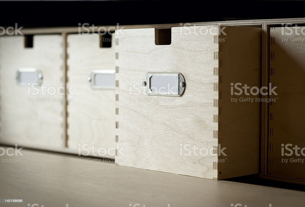 File drawer royalty-free stock photo