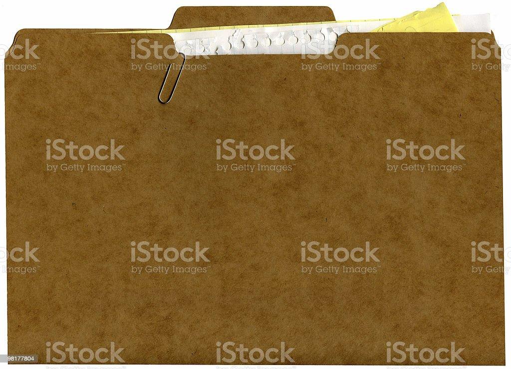 file folder full royalty-free stock photo