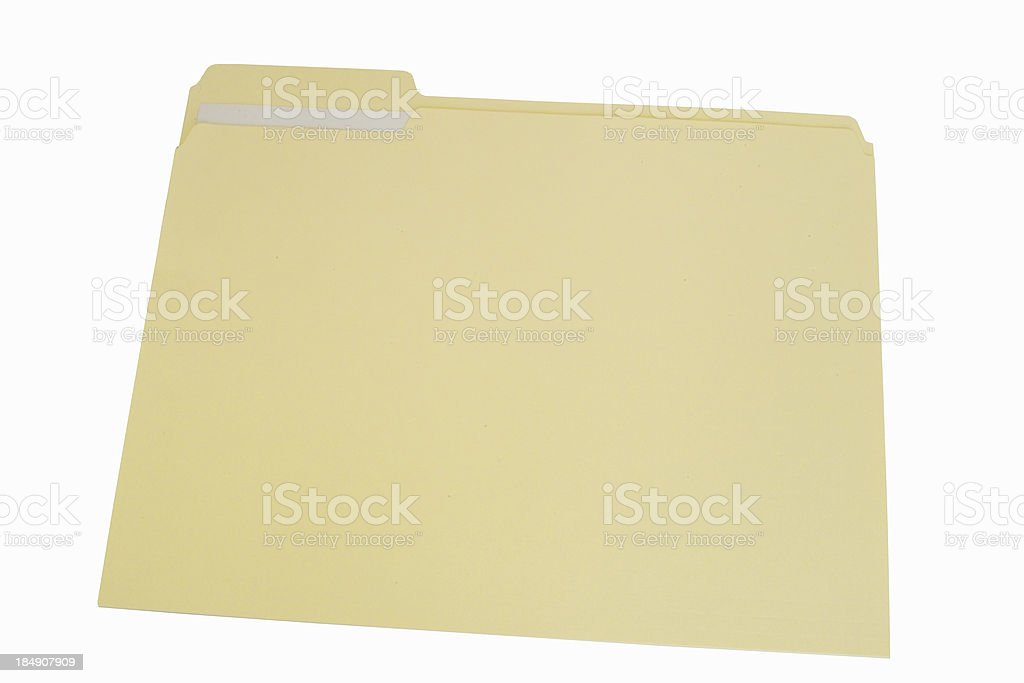 file folder w/ path royalty-free stock photo