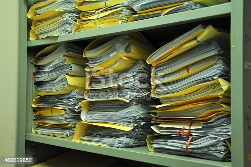 istock file folders store and stack at the rack shelves 466629652