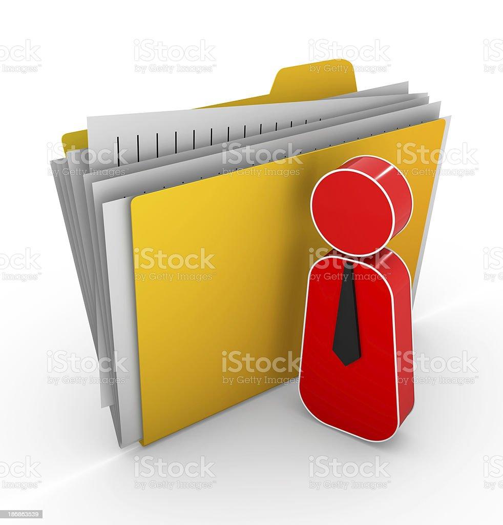 File Manage royalty-free stock photo