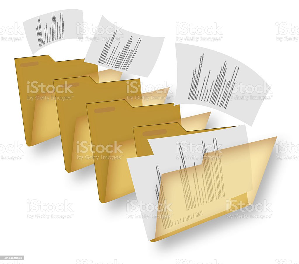 file moving royalty-free stock photo