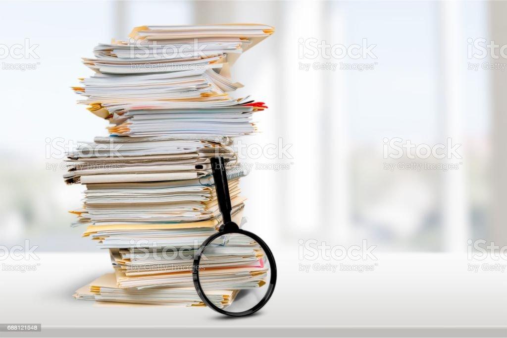 File. - foto stock