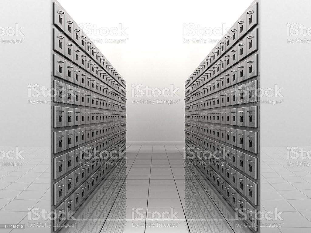 File room stock photo