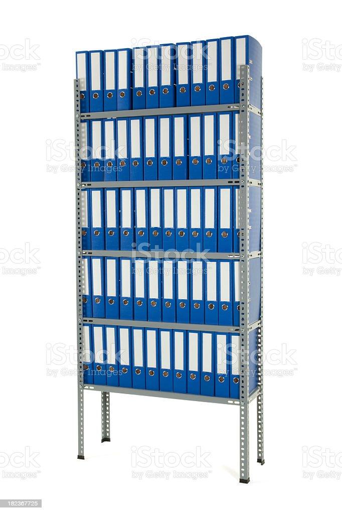 File Shelf royalty-free stock photo