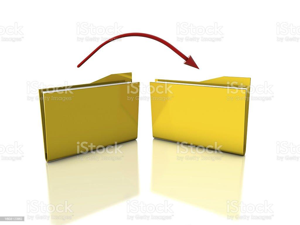 File Transfer stock photo