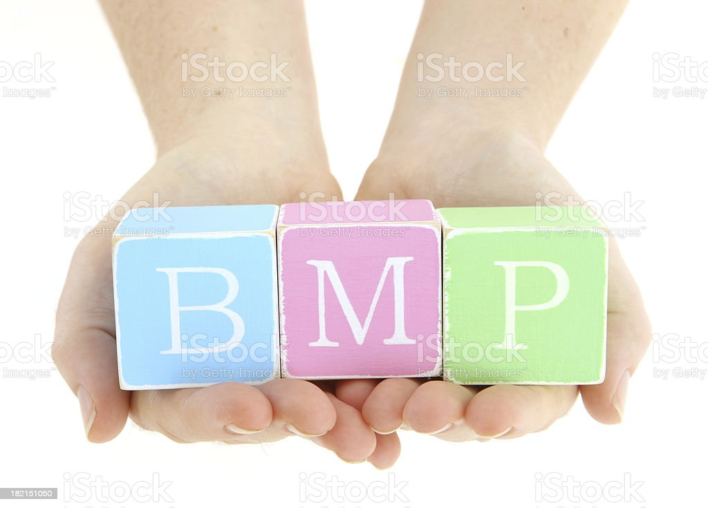 File Type - BMP stock photo