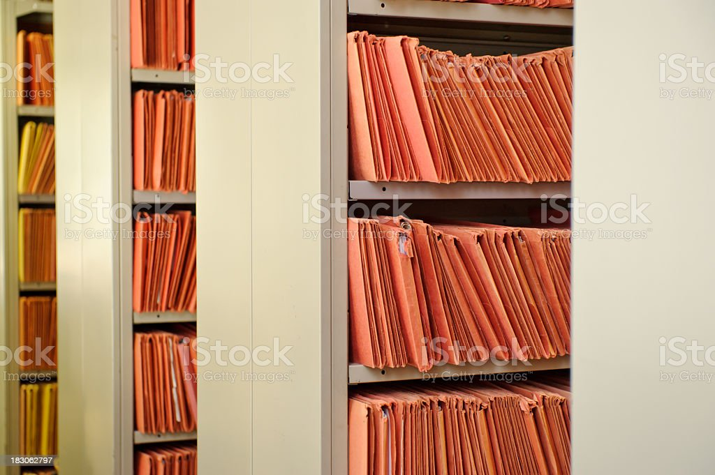 Files royalty-free stock photo
