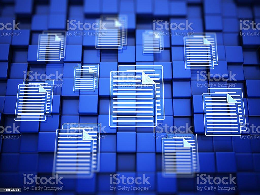 I file - foto stock